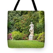 Spring Flower Blooms At The North Vista Lawn Of The Huntington Library. Tote Bag