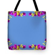 Spring Flower Frame Tote Bag