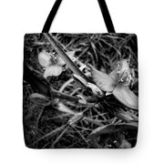 Spring Flowers Bw Tote Bag