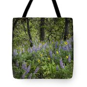 Spring Flowers In The Columbia Gorge Tote Bag
