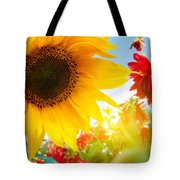 Spring Flowers In The Garden Tote Bag