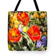 Spring Flowers No. 3 Tote Bag