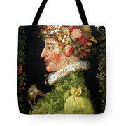 Spring, From A Series Depicting The Four Seasons Tote Bag