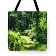 Spring Hikes Tote Bag
