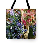 Spring In A Basket Tote Bag