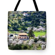 Spring In A Village  Tote Bag