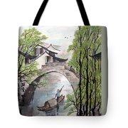 Spring In Ancient Watertown Tote Bag
