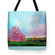 Spring In Bloom Tote Bag