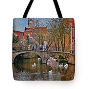 Spring In Bruges Tote Bag
