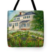 Spring In Colonial Williamsburg- Cole House Tote Bag