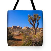 Spring In Joshua Tree National Park Tote Bag