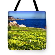 Spring In Pacific Grove Ca Tote Bag