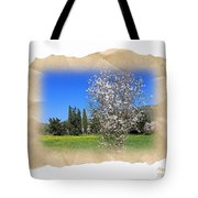 Spring In The Paper Tote Bag