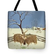 Spring In Winter Tote Bag