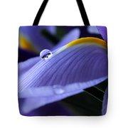 Spring Iris Tote Bag