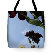 Spring Iris Skies Tote Bag