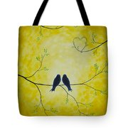 Spring Is A Time Of Love Tote Bag