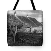 Spring Light - Black And White Tote Bag