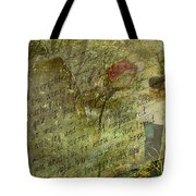 Spring Love Letter Tote Bag