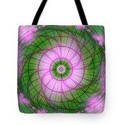 Spring Mandala For Winter Day Tote Bag