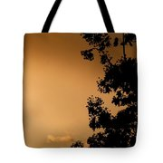 Spring Maple Silhouette Tote Bag