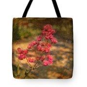 Spring Mignonette Flower Tote Bag