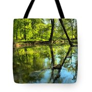 Spring Mill Reflections Tote Bag