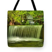 Spring Mill Spillway Tote Bag