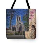 Spring Morning Brides Cottage Tickhill Yorkshire Tote Bag
