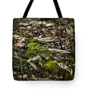 Spring Moss Tote Bag