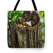 Spring Nuts Tote Bag