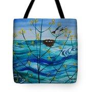 Spring On Lake Ontario Tote Bag