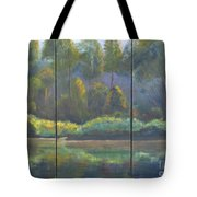 Spring On The Coosa  Tote Bag