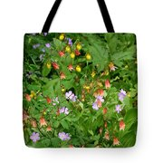 Spring On The Forest Floor Tote Bag