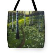 Spring Path Tote Bag
