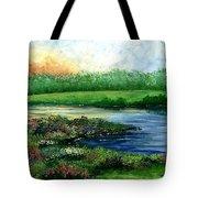 Spring Pond Tote Bag