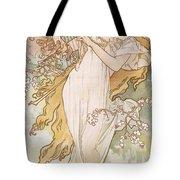 Spring Printemps Tote Bag