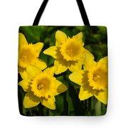 Spring Quartet Tote Bag