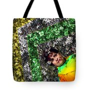 Spring Rainbow And Flowers Tote Bag