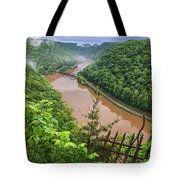 Spring Rains Comes To The New River Tote Bag