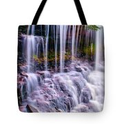 Spring Runoff At The Falls Tote Bag