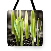 Spring Shoots Tote Bag