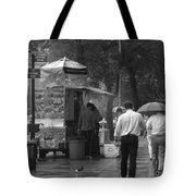 Spring Shower - Rainy Day In New York Tote Bag