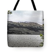 Spring Snow In The Highlands Tote Bag