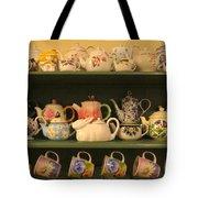 Spring Teapots  Tote Bag