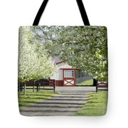 Spring Time At The Farm Tote Bag