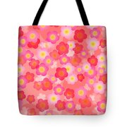 Spring Time Cherry Blossom Seamless Tile Background Tote Bag
