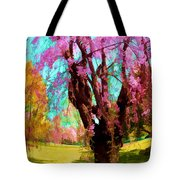 Spring Tree V Tote Bag