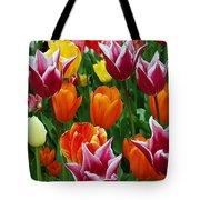 Spring Tulips Tote Bag