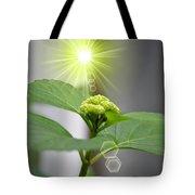 Spring Unfolding Tote Bag